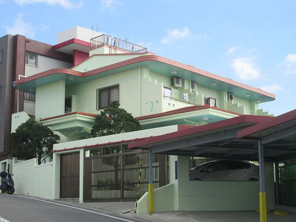 塗装後の沖縄県宜野湾市M邸