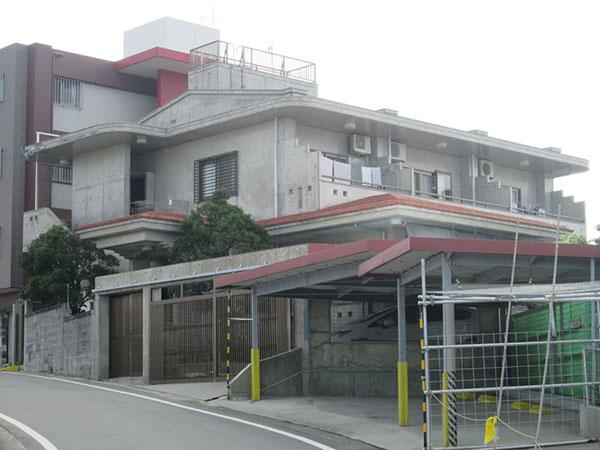 塗装前の沖縄県宜野湾市M邸