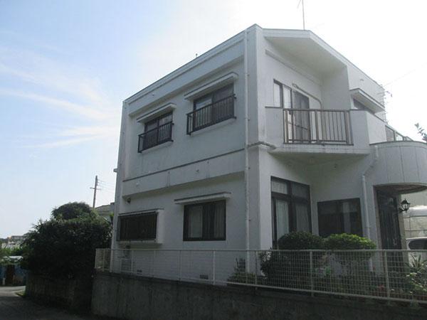 塗装前の沖縄県南風原町A邸