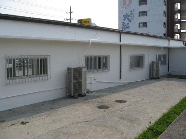 塗装後の沖縄県南風原町S邸