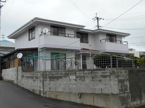 塗装後の沖縄県南風原町Y邸
