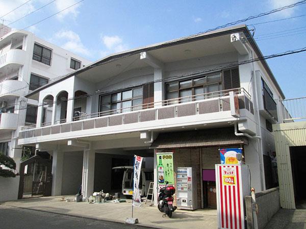 塗装後の沖縄県糸満市M邸