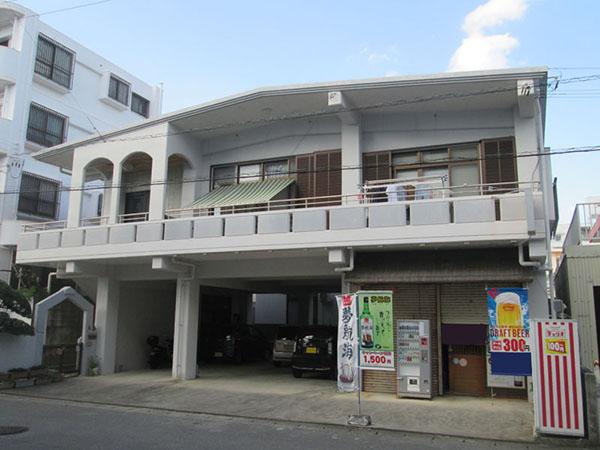 塗装前の沖縄県糸満市M邸