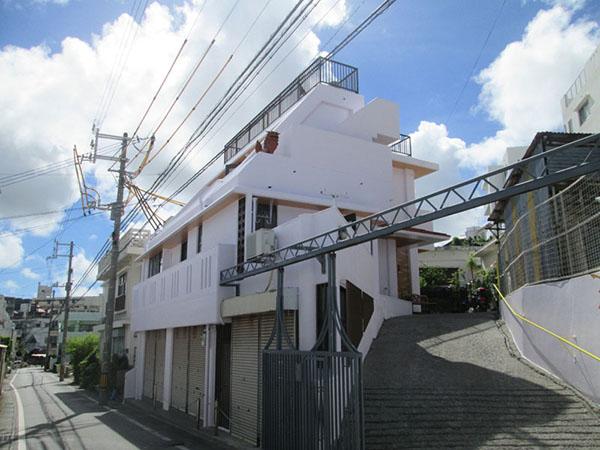塗装後の沖縄県那覇市G邸