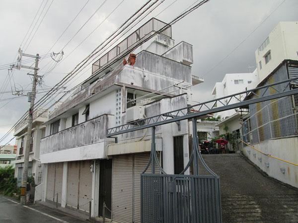 塗装前の沖縄県那覇市G邸