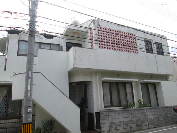 塗装前の沖縄県那覇市H邸