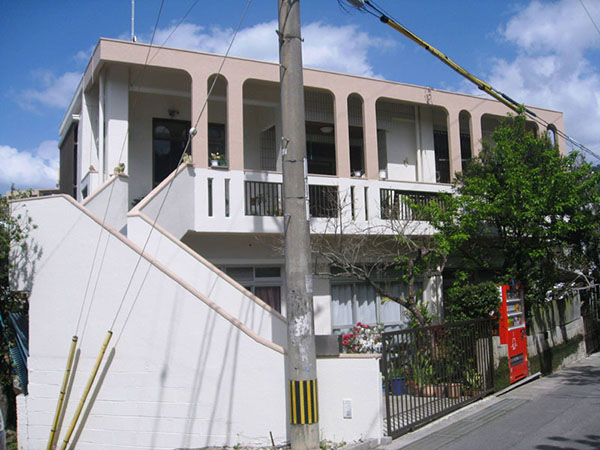 塗装後の沖縄県那覇市K邸