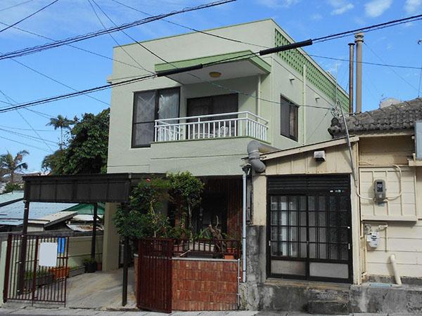 塗装後の沖縄県那覇市S邸