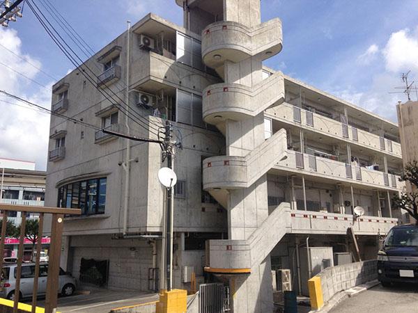 塗装前の沖縄県那覇市S邸