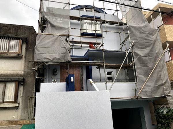 那覇市S邸の外壁塗装工事完了