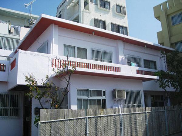塗装後の沖縄県那覇市T邸