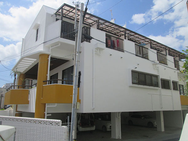 塗装後の沖縄県那覇市Y邸