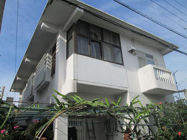 塗装前の沖縄県那覇市Y邸