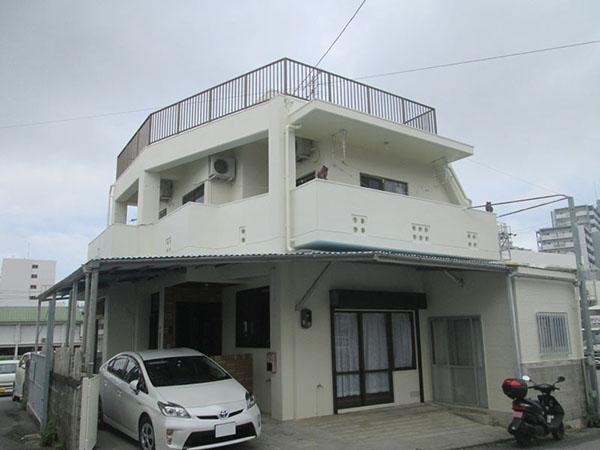塗装後の沖縄県那覇市Z邸