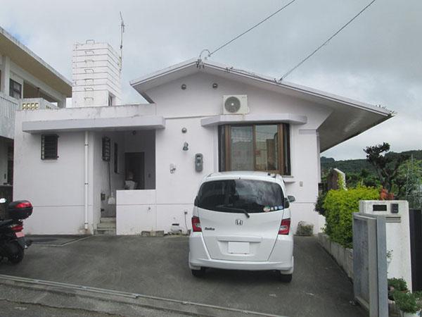 塗装前の沖縄県南城市K邸