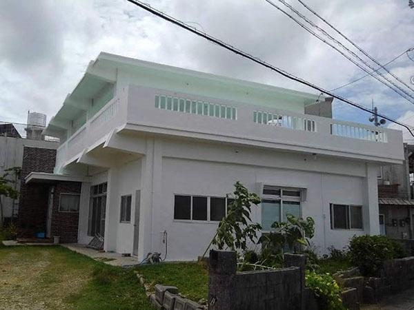 塗装後の沖縄県沖縄市S邸