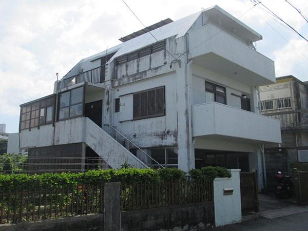 塗装前の沖縄県豊見城市I邸