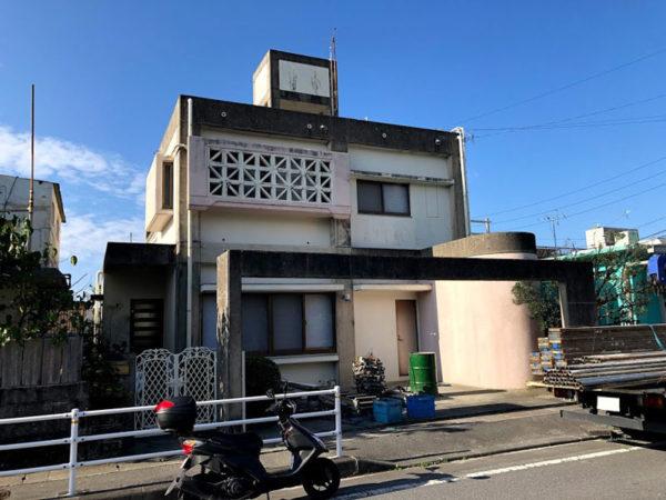 塗装前の沖縄県豊見城市K邸