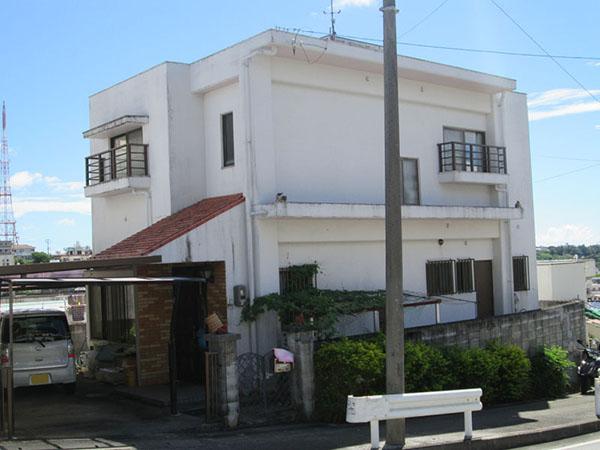 塗装前の沖縄県豊見城市N邸
