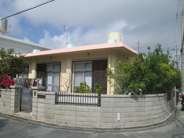 塗装後の沖縄県豊見城市T邸