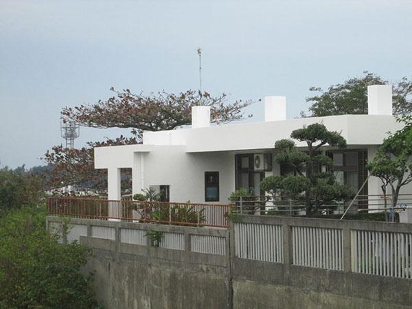 塗装後の沖縄県豊見城市U邸