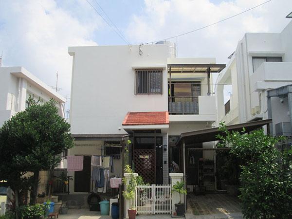 塗装後の沖縄県豊見城市Y邸