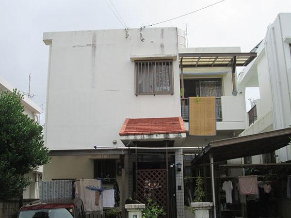 塗装前の沖縄県豊見城市Y邸
