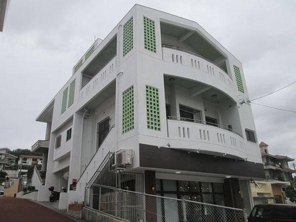 塗装前の沖縄県浦添市I邸