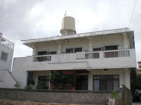 塗装前の沖縄県浦添市K邸