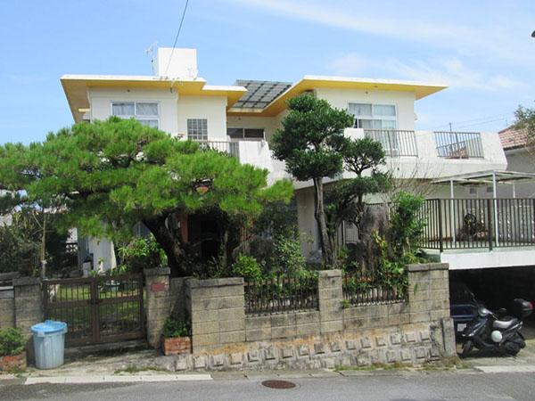 塗装前の沖縄県浦添市N邸