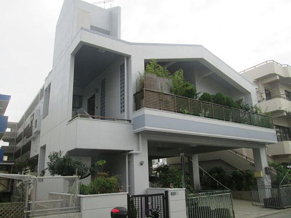 塗装後の沖縄県浦添市S邸