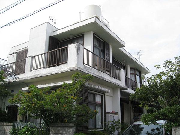 塗装前の沖縄県浦添市T邸
