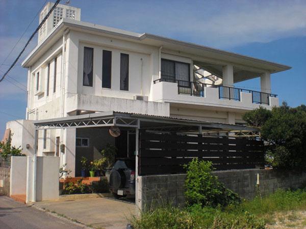 塗装前の沖縄県うるま市M邸