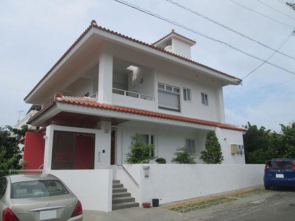塗装後の沖縄県うるま市N邸