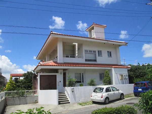塗装前の沖縄県うるま市N邸