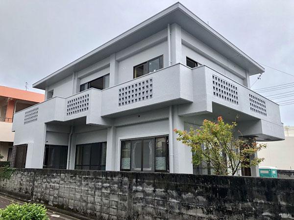 塗装後の沖縄県うるま市T邸