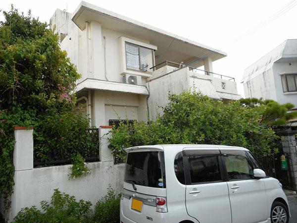 塗装前の沖縄県八重瀬町M邸