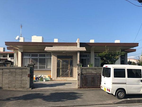 塗装後の沖縄県八重瀬町N邸
