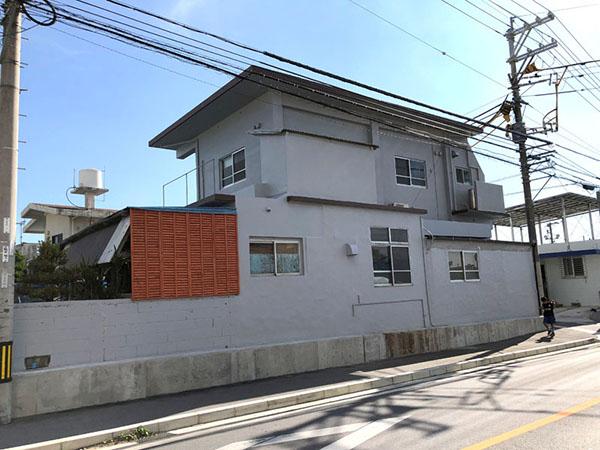 塗装後の沖縄県読谷村S邸