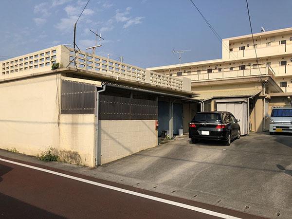 塗装前の沖縄県読谷村Y邸