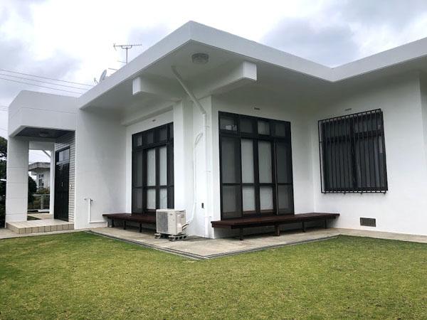 外壁塗装後の沖縄県南城市M邸