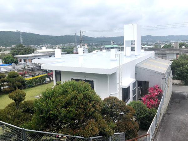 塗装後の沖縄県南城市M邸
