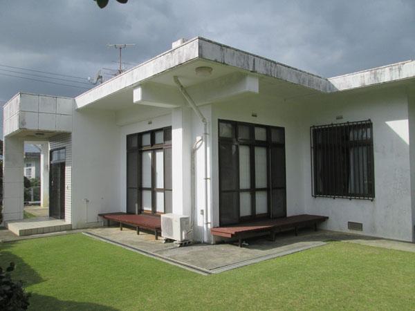 塗装前の沖縄県南城市M邸