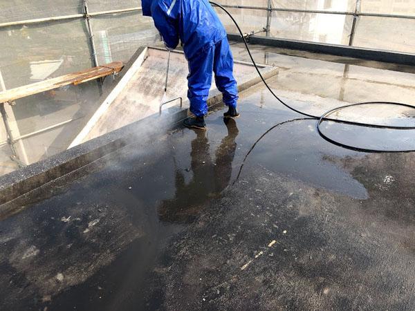 沖縄県那覇市Dアパート様の高圧水洗浄工事
