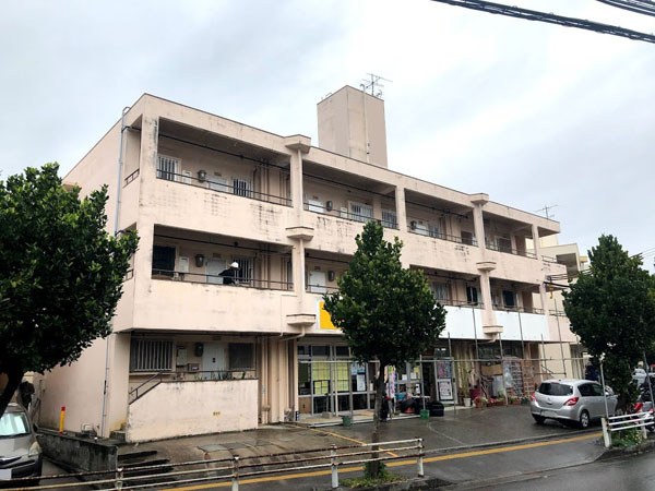 沖縄県那覇市Dアパート様の足場工事