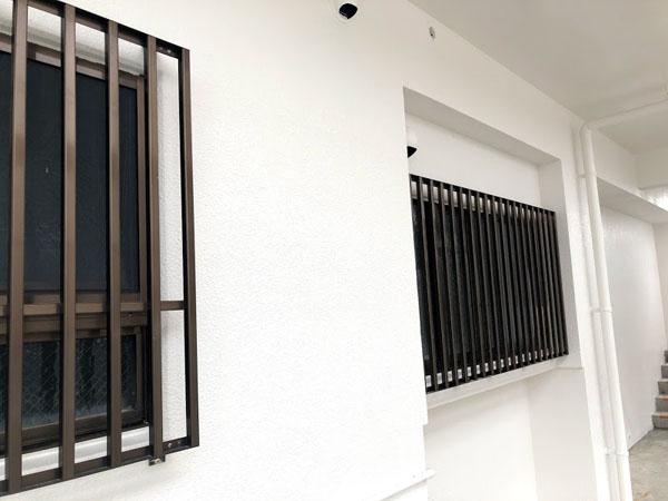 沖縄県那覇市Nアパート様の上塗り完了。