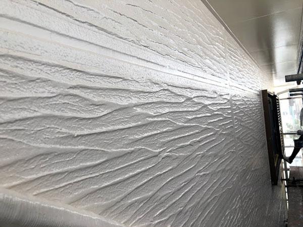 沖縄県那覇市K様の外壁上塗り完了。