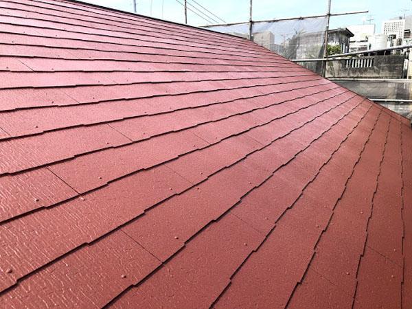 沖縄県那覇市K様の屋根遮熱保護材塗布。