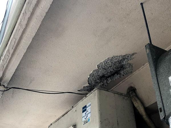 沖縄県宜野湾市I様のコンクリート爆裂部ハツリ。