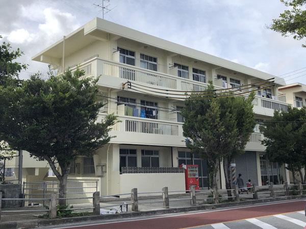 外壁塗装後の沖縄県那覇市Mアパート様
